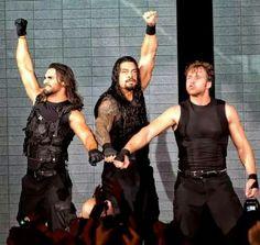 Dean Ambrose Seth Rollins & Roman Reigns