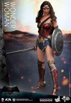 Batman v Superman Figura Wonder Woman MMS 1/6 29 cm