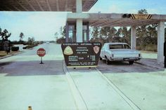 Entrance. Everglades National Park. Homestead. Year Unknown.  Flickr.