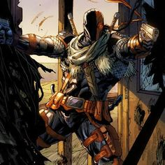Deathstroke is Dick Grayson in (Fun to see him square up w/ Redhood) Dc Deathstroke, Deathstroke The Terminator, Dc Comics Art, Anime Comics, Batwoman, Nightwing, Comic Book Artists, Comic Books Art, Comic Book Characters