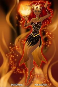 Fire by BFP ~ High Fantasy Dress Up