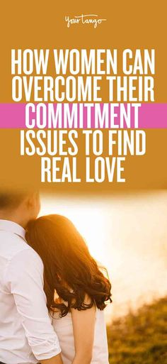 Overcoming your commitment issues is no easy feat, especially when you've had the same views for a long time. But women, in particular, can move past this and find healthy relationships by realizing what commitment really is. Space In A Relationship, Rekindle Relationship, Difficult Relationship Quotes, Healthy Relationship Tips, Relationship Struggles, Relationship Advice, Dysfunctional Relationships, Relationships Love, Healthy Relationships