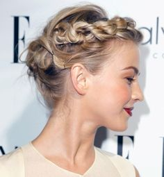 The 20 top celeb-inspired wedding hairdos - Julianne Hough | Gallery | Glo