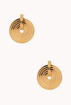 Mod Medallion Earrings
