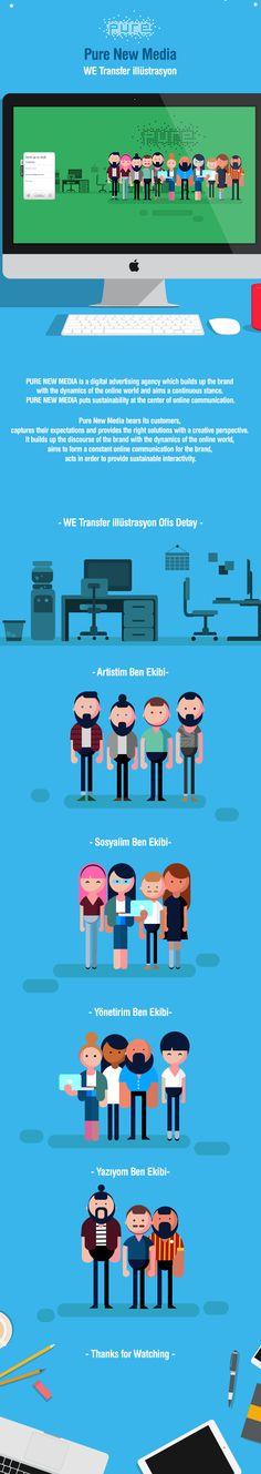Pure New Media Team Illustratiıon on Behance