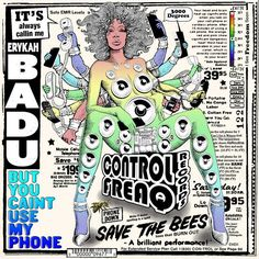 Erykah Badu: But You Caint Use My Phone (Colored Vinyl) Vinyl LP (Record Store Day)