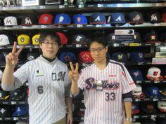 【新宿1号店】 2014年5月12日 野球好きなお二人にスナップにご協力頂きました☆ お二人ともスッゴクお似合いですよ(^o^) また遊びに来てくださいね☆ #npb