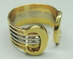 Cartier branded ring - tricolour gold available at Williams Jewellers. #williamsjewellers
