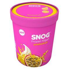 Frozen Yogurt || Passion Fruit