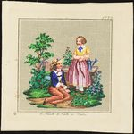 ru / Photo # 53 - People and stories - ignatik Victorian Pattern, Cabbage Roses, Needlepoint, Cross Stitch, Miniatures, Scene, Tapestry, Wool, Embroidery