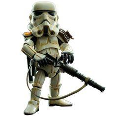"Hero Cross Hybrid Metal Figuration Star Wars:""Sand Trooper"" (Platoon leader version) Figure"