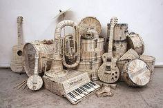Paper mache music