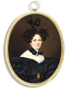 the countess Tolstoy , artist Alexander Bryullov. 1829