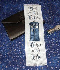 Books are like TARDISes: Bigger on the inside