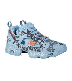 655f507806fa29 VETEMENTS INSTAPUMP FURY GRAFFITI SNEAKERS.  vetements  shoes