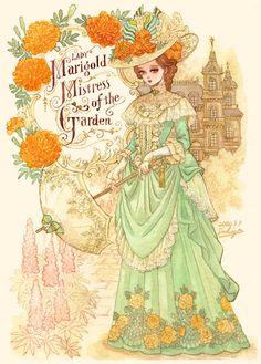 Princess Illustration, Watercolor Illustration, Pretty Art, Cute Art, Art Sketches, Art Drawings, Digital Art Girl, Anime Art Girl, Aesthetic Art