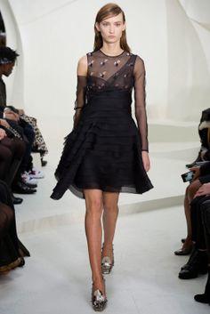 ANDREA JANKE Finest Accessories: 3-D Floral Sequins by DIOR Spring 2014 Couture #Dior #ChristianDior #HauteCouture #PFW #ParisFashionWeek #Fashion