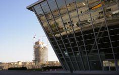 Grattacieli di #Torino così Fuksas sfida Piano... la vista dall'Oval #lingottofiere