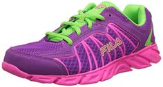Little Kid//Big Kid Girls Reebok Dual Turbo Fire Running Shoe ,Steel//Candy Pink
