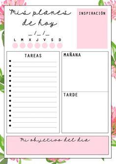 Planificador diario /Daily Planner