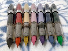 Platinum Plaisir: Fountain Pens with colored nibs.