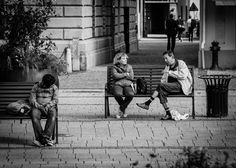 Sleep talkers #streetphotography