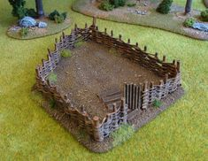 As promised in the last post, here's some more of my recently completed scenery for Dark Age games, principally Saga. All scratch-built from...