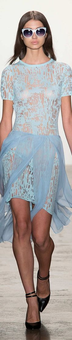 Timo Weiland Collection Spring 2015 Ready-to-Wear