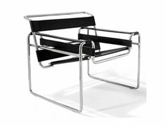 Buy the Wassily Lounge Chair Black by Marcel Breuer and more online today at The Conran Shop, the home of classic and contemporary design Marcel Breuer, Eames, Classic Furniture, Vintage Furniture, Modern Furniture, Luxury Furniture, Sofa Furniture, Furniture Design, Furniture Ideas