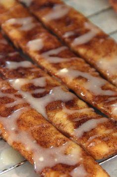 Browned Butter Cinnamon Bun Breadsticks