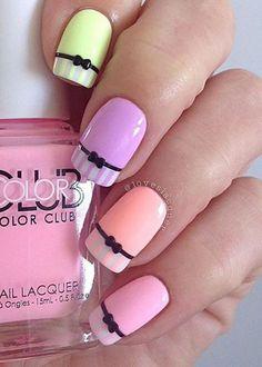 #nailart spring nails