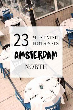 """Visiting Amsterdam North? Go to http://www.yourlittleblackbook.me/nl/amsterdam-noord-guide/ for the best hotspots! Planning a trip to Amsterdam? Check http://www.yourlittleblackbook.me/ & download """"The Amsterdam City Guide app"""" for Android & iOs with over 550 hotspots: https://itunes.apple.com/us/app/amsterdam-cityguide-yourlbb/id1066913884?mt=8 or https://play.google.com/store/apps/details?id=com.app.r3914JB"""
