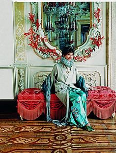 Dodie Rosekrans.. met her in Venice, total eccentric fabulous lady