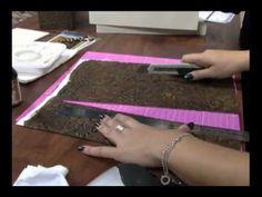 Caixa de Vinho com Papel Textura - Passo a Passo 2/2 - YouTube