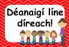 Gaeilge Ar Scoil Resource Pack (Irish 'At School resource Pack) Class Displays, Classroom Displays, Classroom Ideas, Primary Teaching, Primary School, Teaching Ideas, Childcare Rooms, Irish Language, Practical Gifts