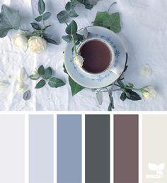 Mood Board: Warm Tea and White Roses Colour Schemes, Color Combos, Colour Palettes, Colorful Decor, Colorful Interiors, Pantone, Color Palate, Design Seeds, Color Swatches