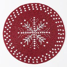 Food Network™ Snowflake Beaded Placemat