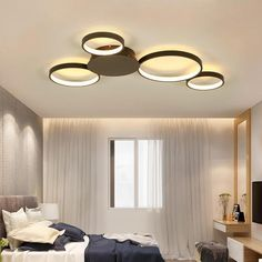 Ceiling Lights & Fans Have An Inquiring Mind Led Ceiling Light Modern Lamp Panel Living Room Round Lighting Fixture Bedroom Kitchen Hall Surface Mount Flush Remote Control
