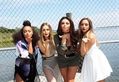 Little Mix at Billboard Hot 100 Festival - August 22, 2015