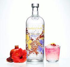 {Absolut} Absolut Hibiskus #Absolut #vodka