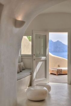 Santorini island, I want this home...