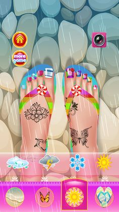 Toe Nail Salon Makeover - Kids– Capture d'écran