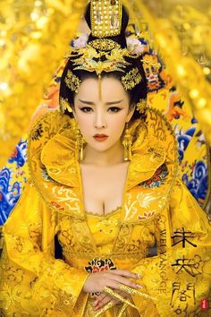 Oriental Fashion, Ethnic Fashion, Colorful Fashion, Asian Fashion, Asian Woman, Asian Girl, Ice Queen Costume, The Empress Of China, Culture Clothing