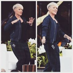 """P!nkFreak on Instagram: """"I know that dance move ❤❤❤❤!!!! #aleciamoore #theellenshow"""""""