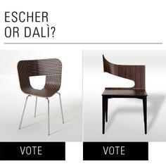 UP&M - ESCHER OR DALÌ? Lorenz+Kaz or the design by Rita Rijillo? Which you prefer?  http://www.lanciatrendvisions.com/en/upmore/share/1107