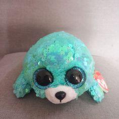 153a0ba6f8b Ty Flippables Tremor Sequin Green Seal Unicorn bloomy Plush Toys Big Eyes  Eye Stuffed Animal Soft Toy Kid Gift Features  Stuffed   P.
