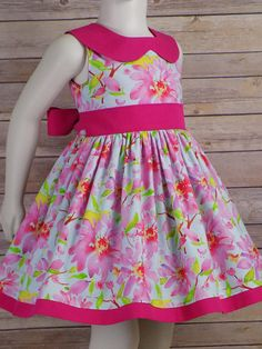 Girls Frock Design, Kids Frocks Design, Baby Frocks Designs, Baby Dress Design, Girls Spring Dresses, Girls Easter Dresses, Dresses Kids Girl, Baby Dresses, Peasant Dresses