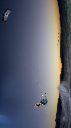 Flying towards happiness #kitesurfing http://www.blueprinteyewear.com/ http://minivideocam.com/product-category/sports-action-camera/