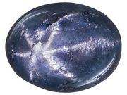 Thailand Blue Star Sapphire Average 2.75ct 9x7mm Oval Cabochon (SRV296)