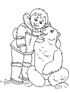 Inuit Love Polar Bear Coloring Page : Coloring Sky Polar Bear Coloring Page, Bear Coloring Pages, Coloring Pages For Kids, Coloring Sheets, Online Coloring, Have Some Fun, Wood Burning, Picture Ideas, Folk